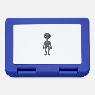 Grey Small grey grey alien - Lunchbox