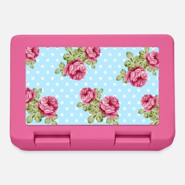 Rose flowers pattern floral pattern - Lunchbox