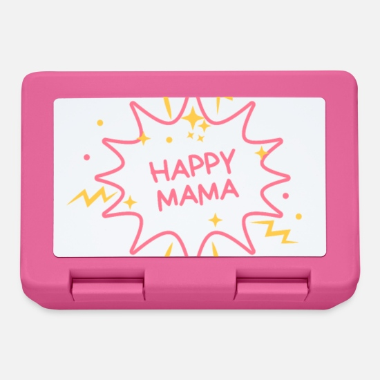 Gift Idea Lunchboxes - happy mom - Lunchbox pink