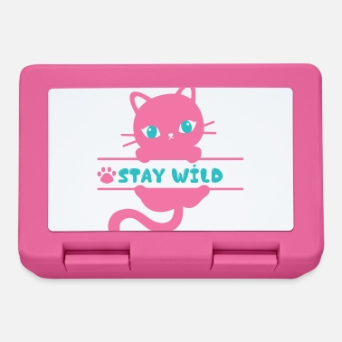 Cat Wild Cat Meow - Lunch box