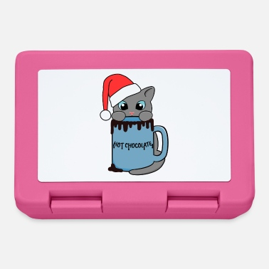 Cat | Christmas | Hot Chocolate | Cup - Lunchbox