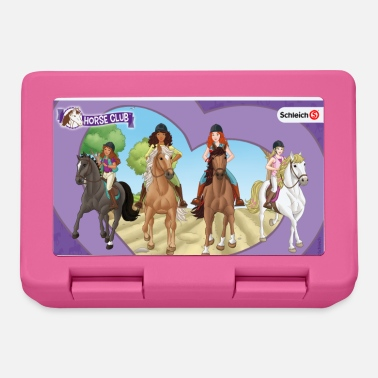 Schleich Horseclub heart frame lunch box - Broodtrommel