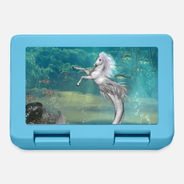 Swimming Mane Awesome seahorse - Lunchbox