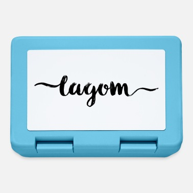 lagom swedish sweden scandinavian - Lunchbox