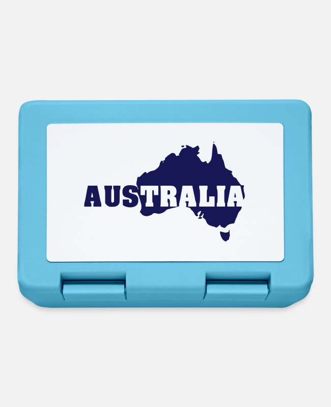 Commonwealth Lunchboxes - Australia - Lunchbox sapphire blue