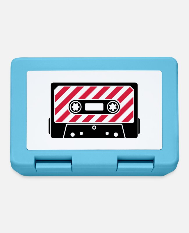 Play Lunchboxes - Audio Tape - Music Cassette - Lunchbox sapphire blue
