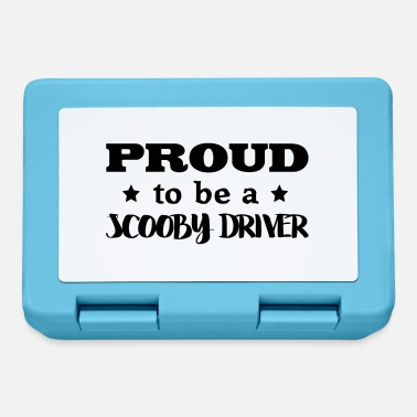 Scooby scooby driver proud to be - Lunchbox