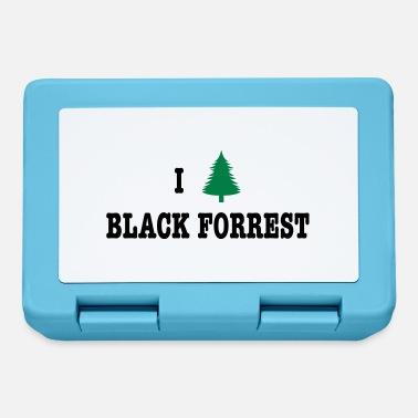 I Love Germany I Love Black Forrest - Germany - Fiambrera