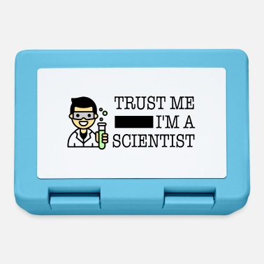 Trust me I'm a scientist male Asian - Lunchbox