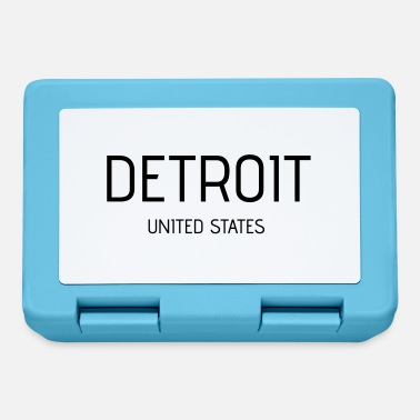 Detroit Detroit - Lunch box