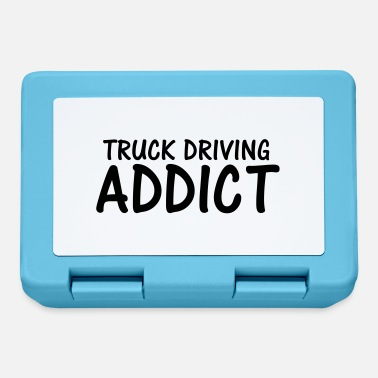 truck driving addict - Lunchbox