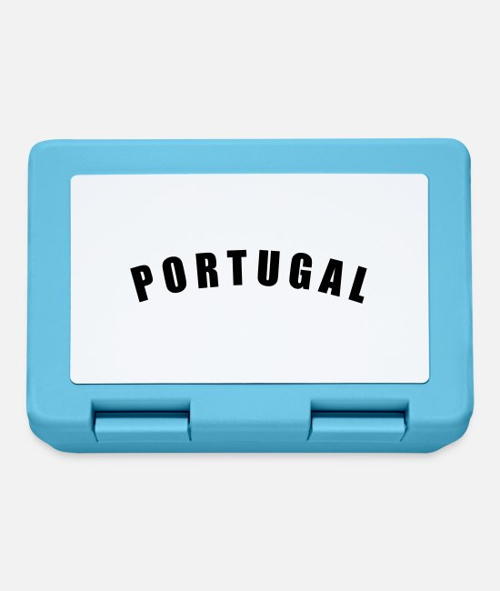 Fußball Lunchboxes - PORTUGAL Länder countries futebol fútbol football - Lunchbox sapphire blue
