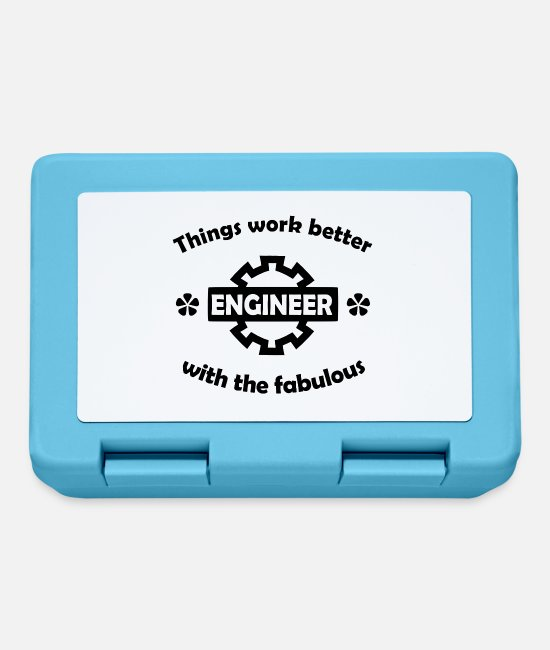 Factory Lunchboxes - engineer - Lunchbox sapphire blue