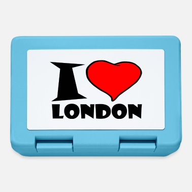 London London - Ich Liebe london - Brotdose