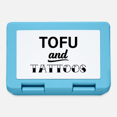 Protection Tofu and Tattoos Vegan Vegan Gift - Lunchbox