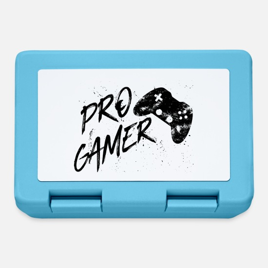 Life Force Lunchboxes - Pro Gamer - Video Games gaming esport Multiplayer - Lunchbox sapphire blue