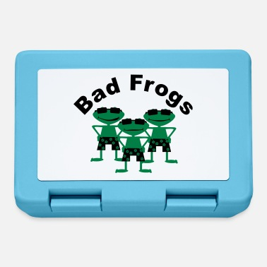 Bad bad frogs - Lunch box