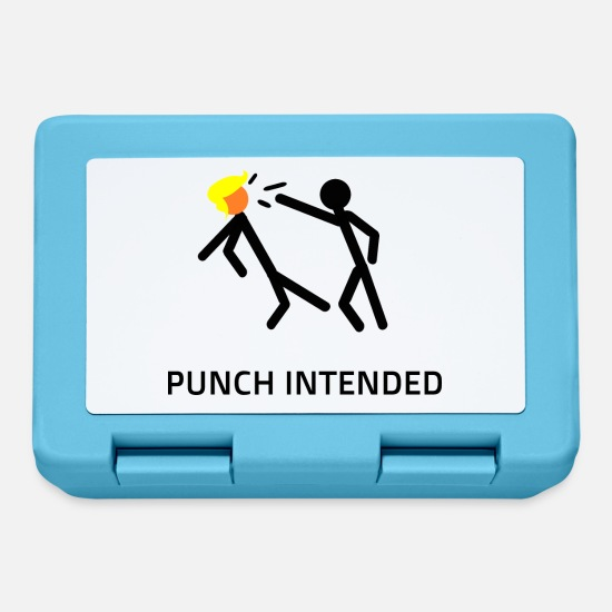 Obscene Lunchboxes - PUNCH INTENDED - Lunchbox sapphire blue