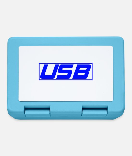 Pro Gamer Lunchboxes - USB - Lunchbox sapphire blue