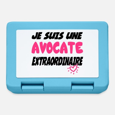 Avocat / Avocate / Lawyer / Banquier / Humour / G - Lunchbox