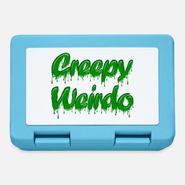 Gloopy Writing Green Gloop Creepy Weirdo - Lunchbox