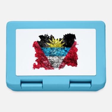 Antigua Antigua and Barbuda vintage flag - Lunchbox