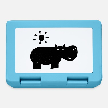 Drawing Hippo drawing - Lunchbox