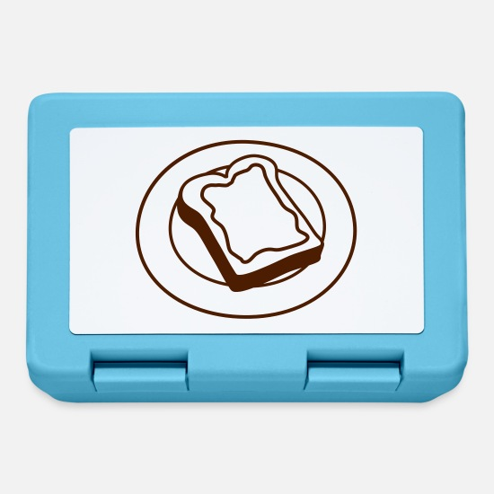 Toast Lunchboxes - Butter Toast - Lunchbox sapphire blue