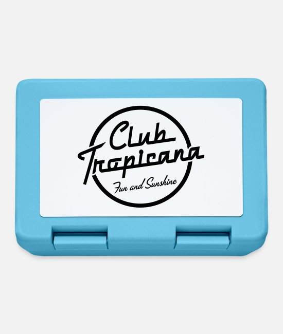 Pop Lunchboxes - Club Tropicana - Lunchbox sapphire blue