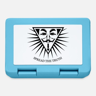 Hacking Revolution Democratie Anonymous NWO Spread the Truth 1c - Boîte à goûter.