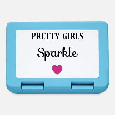 Pretty Pretty Girls Sparkle - Lunch box
