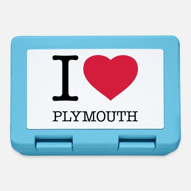 Plymouth I LOVE PLYMOUTH - Lunch box