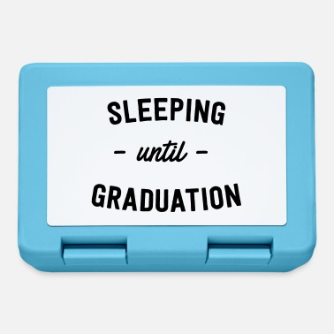 Graduation Ceremony Sleeping Until Graduation - Lunchbox