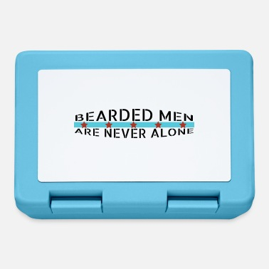 Mustache beard - Bearded men are never alone - Lunchbox