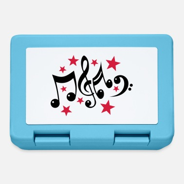 Tab note musicali e le stelle 2c - Lunch box