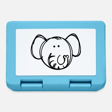 Drawing Elephant drawing - Lunchbox