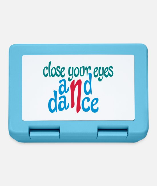Street Dance Lunchboxes - Funny gifts for dancers - Lunchbox sapphire blue