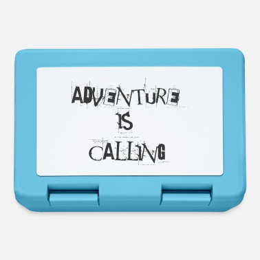 Adventure is calling - Lunchbox