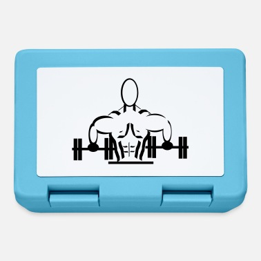 Body Building weights body building - Lunchbox