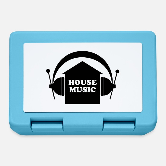 House Music Brotdosen - House music - Brotdose Saphirblau