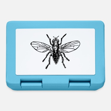 Fly Fly Fly Insect Insects Animal Animals - Lunchbox