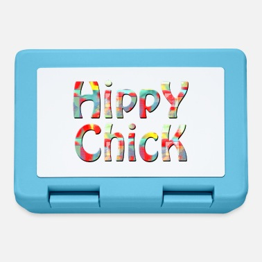 hippy chick - Lunchbox