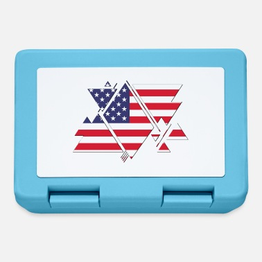 Nort America USA america flag - Lunchbox