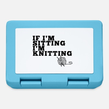 Sitting & Knitting - Lunchbox
