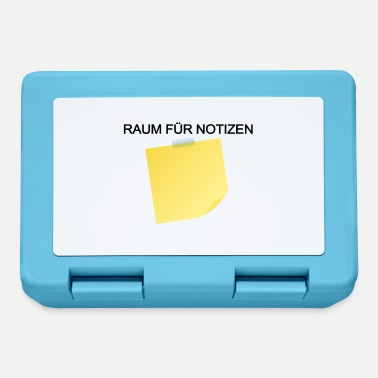 Notiz Raum für Notizen - Brotdose