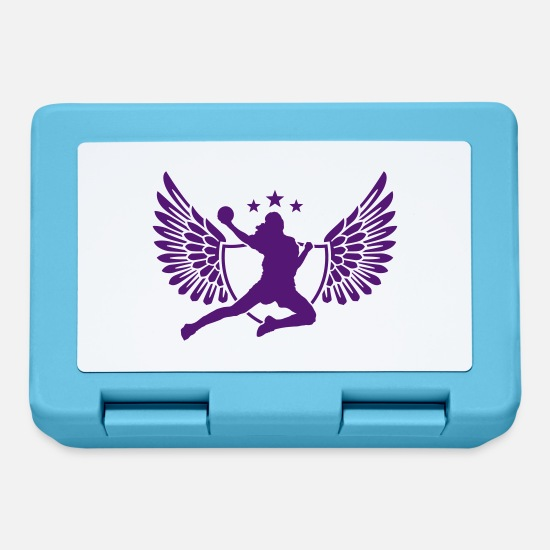 Handball Player Lunchboxes - handball - Lunchbox sapphire blue