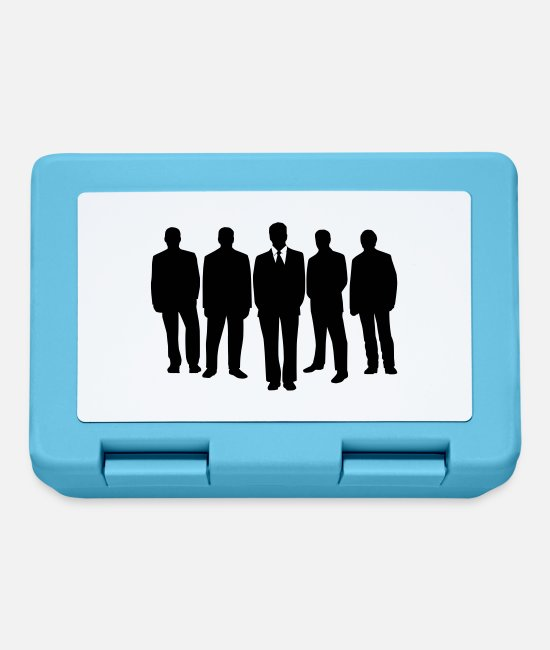 Office Lunchboxes - Business Men Crew - Lunchbox sapphire blue