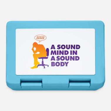 Healthy A Healthy Mind In A Healthy Body - Lunchbox