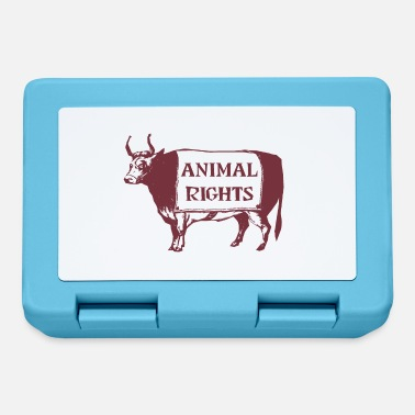 Animal Rights Animal Rights COW - Lunchbox