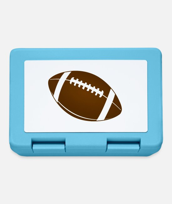 Ball Lunchboxes - American Football - Lunchbox sapphire blue